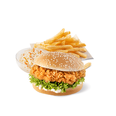 Zinger Burger Menu