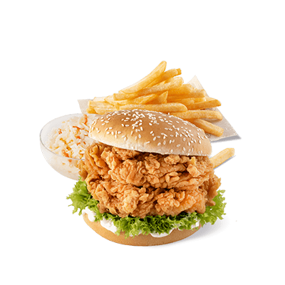 Zinger Burger Podwójny Menu