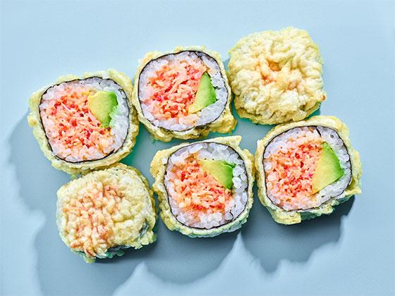 Futomaki surimi tempura-Dobra energia
