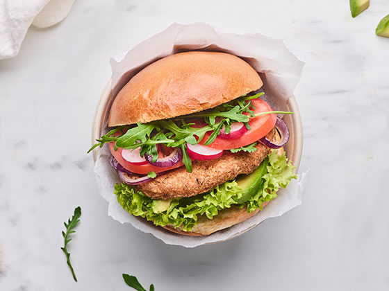 Cieciorka Burger